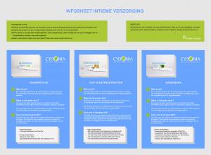 Info sheet intieme verzorging Cydonia