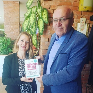 Lejla Barakovic met dr. Nihad Hadzibegic