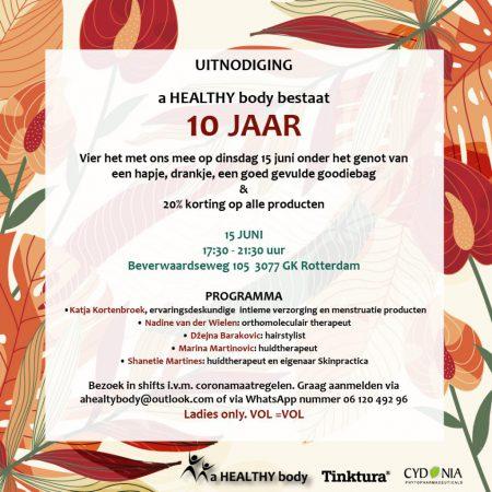 Uitnodiging 10 jaar healthy_wit